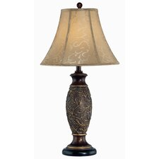 "Gentry 31"" H Table Lamp with Bell Shade"