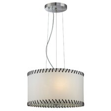<strong>Lite Source</strong> Lavina 3 Light Drum Pendant