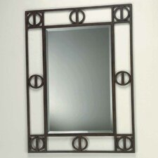 "<strong>Lite Source</strong> Etruscan 36"" H x 28"" W Framed Mirror"