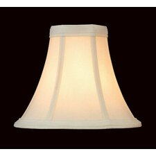 Woven Fabric Candelabra Chandelier Shade in Cream