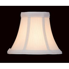 Candelabra Lamp Shade in White
