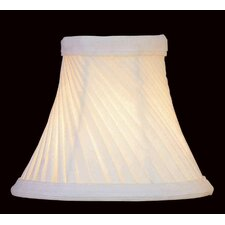 <strong>Lite Source</strong> Swirl Pleat Chandelier Shade in Cream