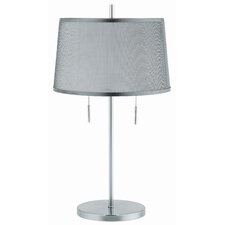 "Moderna 24"" H Table Lamp with Drum Shade"