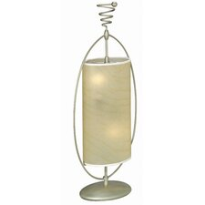 """Curly 32"""" H Table Lamp with Drum Shade"""