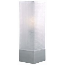 "Soho Square 20"" H Table Lamp with Drum Shade"