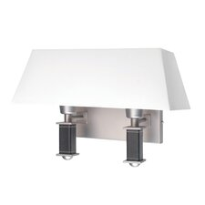 <strong>Lite Source</strong> Brockton 2 Light Wall Sconce