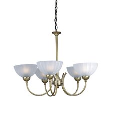 <strong>Lite Source</strong> Alani 5 Light Chandelier