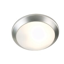 Glow-Pan 2 Light Flush Mount