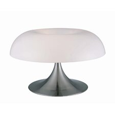 "Pliant 12"" H Table Lamp with Bowl Shade"