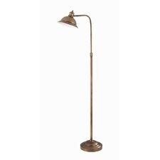 <strong>Lite Source</strong> Minuteman Adjustable Metal Floor Lamp