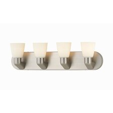 <strong>Lite Source</strong> Contemporary 4 Light Vanity Light
