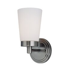 <strong>Lite Source</strong> Alvina 1 Light Wall Sconce