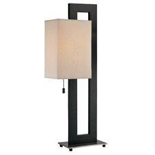 """Benito 30.5"""" H Table Lamp with Rectangle Shade"""