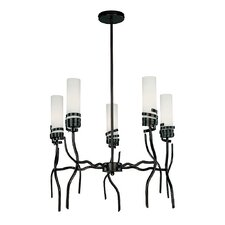 Espiral 5 Light Chandelier