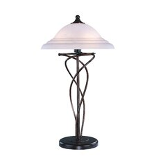 "Majesty 28"" H  Table Lamp with Bell Shade"