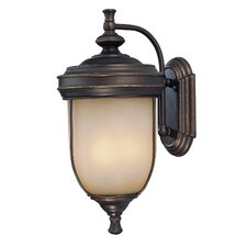 Shanton 3 Light Outdoor Wall Lantern