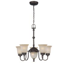 <strong>Lite Source</strong> Shanton 5 Light Chandelier