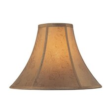 <strong>Lite Source</strong> Jacquard Bell Lamp Shade with Spider Style