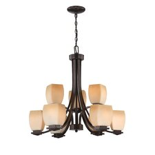 <strong>Lite Source</strong> Orazio 9 Light Chandelier