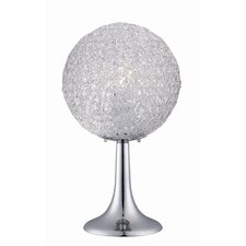 "Icy 20"" H Table Lamp with Round Shade"