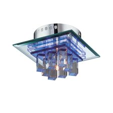 Quotom 4 Light Flush Mount
