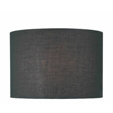 Drum Lamp Shade in Black