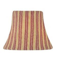 <strong>Lite Source</strong> Candelabra Lamp Shade in Woven Stripe Red