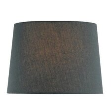 Fabric Drum Lamp Shade in Black