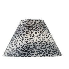 Leopard Printed Fabric Lamp Shade