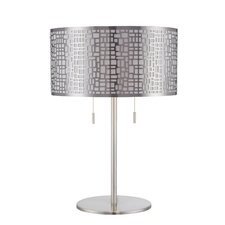 "Torre 22"" H Table Lamp with Drum Shade"