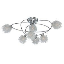 Hallan 7 Light Flush Mount