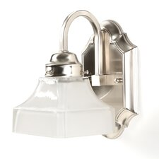 <strong>Lite Source</strong> Campton 1 Light Wall Sconce