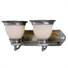 <strong>Lite Source</strong> Carter 2 Light Vanity Light