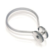 Button Shower Curtain Ring