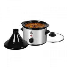 1.5L Tagine and Slow Cooker in Stainless Steel