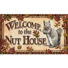 Nut House Door Mat