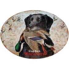 Winchester King Buck Tin Sign Wall Art