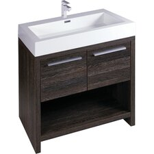 Halo 90cm Double Vanity with Double Basin