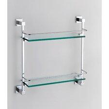 Quadro Double Glass Shelf