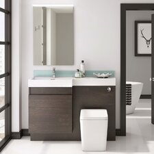 Airshire 120cm Vanity with Basin and WC Unit
