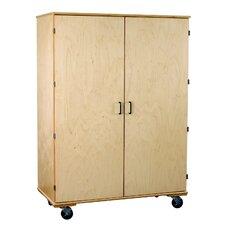 Classroom Select Adjustable Large Mobile Storage Shelf
