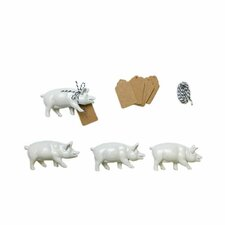 Pig Place Card Set (Set of 4)