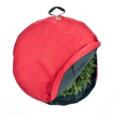 Santa's Bags Economy Wreath Heavy Duty Fabric Storage Bag