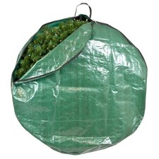 Santa's Bags Premium Christmas Tarp Direct Suspend Wreath Bag