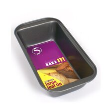 Non Stick Rectangle Metal Loaf Tin in Black