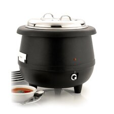 Sunnex 10L Electric Soup Kettle in Black