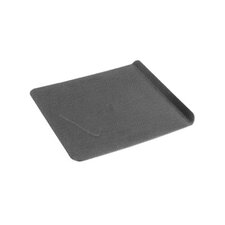 32.5cm Non Stick Rectangle Metal Baking Sheet in Black