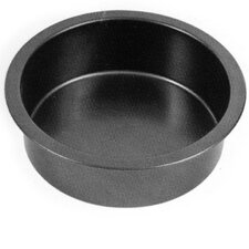 23cm Non Stick Deep Round Metal Cake Tin in Black