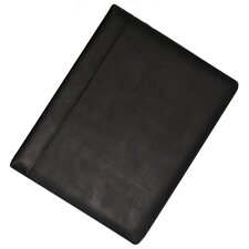 Genuine Leather Writing Pad in Black