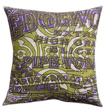 Press Cotton Print Edgeworth Pipe and Tile Pillow